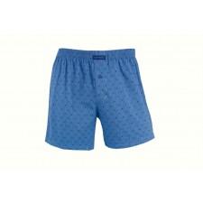 Трусы-боксеры свободные мужские Cornette Alban голубые