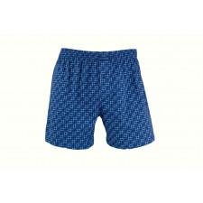 Трусы-боксеры свободные мужские Cornette Oliver big синие