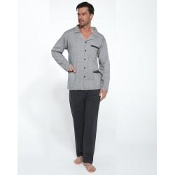 Костюм домашний мужской (пижама) Cornette Toff big серый