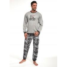 Пижама мужская Cornette Riders серый меланж