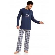 Пижама мужская Cornette Flying Academy темно-синяя
