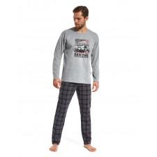 Пижама мужская Cornette Racing park серый меланж