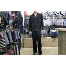 Пижама мужская Rosch Silk синяя