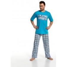 Пижама мужская Cornette City life голубая