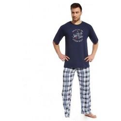 Пижама мужская Cornette New York темно-синяя