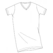 Футболка мужская Impetus Premium Cotton V белая