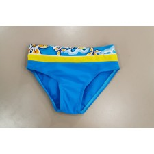 Плавки для мальчиков eleMar Flowers желто-голубые