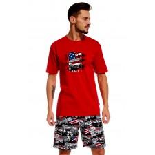 Пижама мужская Cornette America красная