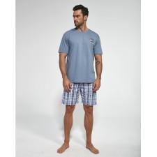 Пижама мужская Cornette Regatta джинсовый меланж