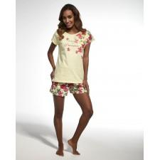 Пижама женская Cornette Paradise желтая