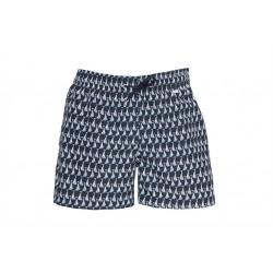 Шорты текстильные пляжные мужские HOM Regate темно-синие