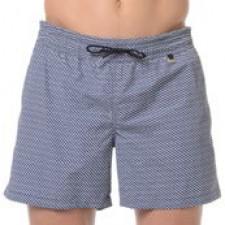 Шорты текстильные пляжные мужские HOM Prince темно-синие