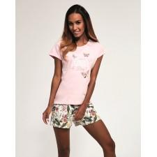 Пижама женская Cornette Butterfly розовая