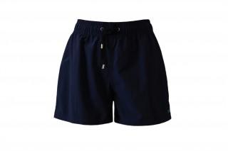 Шорты текстильные пляжные мужские HOM Marine темно-синие