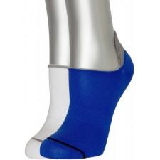Подследники (носки) мужские ASKOMI AU-4015 2 пары белый, синий