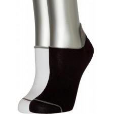 Подследники (носки) мужские ASKOMI AU-4015 2 пары белый, черный
