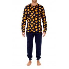 Костюм домашний (пижама) HOM Luberon темно-синий