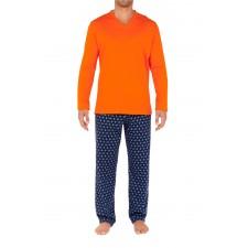 Костюм домашний (пижама) HOM Malmousque оранжевый