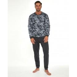 Костюм домашний мужской (пижама) Cornette Air Force 2 графит
