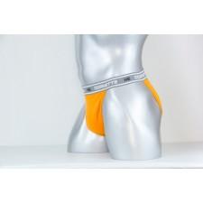 Трусы мужские Cornette HE Tanga оранжевые