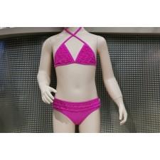 Купальник для девочек Cornette Triangolo розовый