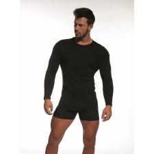 Футболка мужская Cornette HE Long Sleeve U черная