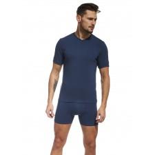 Футболка мужская Cornette HE T-shirt V джинс