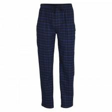Брюки домашние мужские Gotzburg Tartan flannel темно-синие