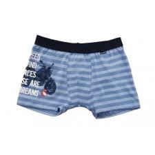 Боксеры для мальчиков Cornette Speed wind светло-голубые