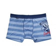 Боксеры для мальчиков Cornette Missouri светло-голубые