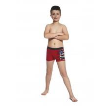 Боксеры для мальчиков Cornette America красные