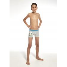 Боксеры для мальчиков Cornette Enjoy серый меланж