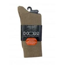 Носки мужские HOM Cotton Modal Sans Compression коричневые