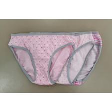 Трусы подростковые для девочек Cornette Classic Young розовые 3 шт.